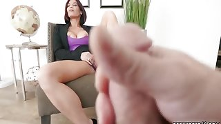 Milf legs Ryder Skye in Stepmother Sex Sessions